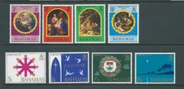 Bahamas 1970 & 1971 Christmas Sets Of 4 MNH - Bahamas (1973-...)