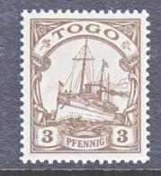 Togo 20   **  Wmk - Colony: Togo