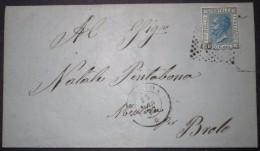 ANNULLI NUMERALI CAMPANIA: NUMERALE PROCIDA Napoli - 1861-78 Vittorio Emanuele II