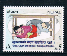AA1449 Nepal 2015 Earthquake Disaster Prevention Literacy 1 Full - Nepal