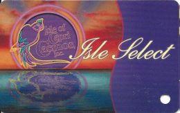 Isle Of Capri Casinos - Isle Select Slot Card  (BLANK) - Casino Cards