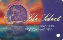 Isle Of Capri Casinos - Isle Select Slot Card - Casino Cards