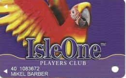 Isle Of Capri Casinos - Slot Card - 3 Lines Of Text In Logo On Back - Casino Cards