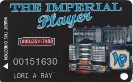Imperial Palace Casino Las Vegas, NV - 3rd Issue Slot Card - Front Phone# In Middle - Casino Cards