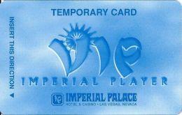 Imperial Palace Casino Las Vegas, NV - Temp Slot Card - Cpi 30431 On Back Over Mag Stripe - Casino Cards