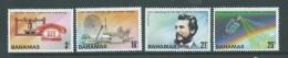 Bahamas 1976 Telephone / Alexander Bell Set Of 4 MNH - Bahamas (1973-...)
