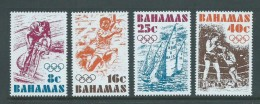 Bahamas 1976 Montreal Olympic Games Set Of 4 MNH - Bahamas (1973-...)