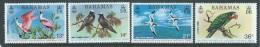 Bahamas 1974 National Trust Bird Set Of 4 MNH - Bahamas (1973-...)