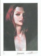 No PAYPAL !! : Alex ALICE Ex-Libris Pin Up, XL N°/Signé Le Troisième Testament 99 Exemplaires Inédit Fantasmagories NEUF - Ex-libris