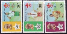 NAURU 1978 Scouts Sc 188-190 Mint Never Hinged - Nauru