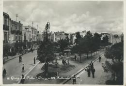 GIOIA DEL COLLE - PIAZZA XX SETTEMBRE -  FG.- VIAGGIATA - - Bari