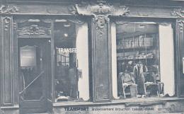 25761 RENNES 35 -carte Publicitaire TRANSFERT Magasin D'habillement Rue Motte Fablet Je Crois -