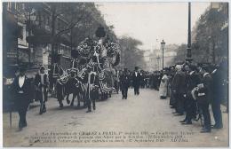 75 - PARIS - 6. FUNERAILLES DE JORGE CHAVEZ 1 ER OCTOBRE 1910. GLORIEUX AVIATEUR PASSAGE DES ALPES. - Francia