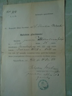 Hungary  FÓTH FÓT - Alexandrum  Juhász - Julianna Rólik - Josehus Somhegyi - 1884   D137987.28 - Engagement