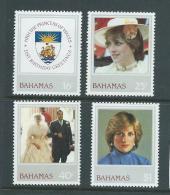 Bahamas 1982 Diana 21st Birthday Set Of 4 MNH - Bahamas (1973-...)