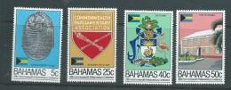 Bahamas 1982 Parliament Conference Set Of 4 MNH - Bahamas (1973-...)