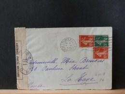 A6409   LETTRE  1916 POUR LA HAYE  CENSURE - Marcofilie (Brieven)