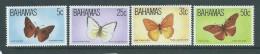 Bahamas 1983 Butterfly Wildlife III Set Of 4 MNH - Bahamas (1973-...)