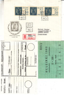 Exposition Philatélique - Timbres Sur Timbres - Finlande - Lettre Recom De 1960 - Oblit Helsinki - Valeur Plus De 20 € - Briefe U. Dokumente