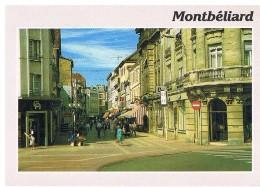 Montbéliard : La Rue Piètonne - Montbéliard