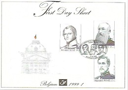 FDS 1999-1 ** COB 2793 2794 BL 78 ** Promotion De La Philatélie - FDC