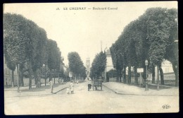 Cpa Du 78  Le Chesnay -- Boulevard Central         LIOB59 - Le Chesnay