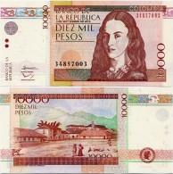 COLOMBIA        10,000 Pesos        P-453       4.9.2013       UNC  [ 10000 ] - Colombie