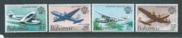 Bahamas 1983 Airmail & Plane Set Of 4 MNH - Bahamas (1973-...)