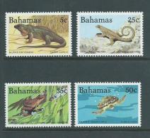 Bahamas 1984 Reptiles Wildlife IV Set Of 4 MNH - Bahamas (1973-...)