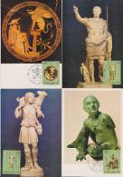 G 594) Vatikan 1983 Mi# 836-841 FDC MK (6): Vatikanische Kunstwerke - Other