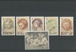 TIMBRE  BELGE  N° COB  1272/77 - Unused Stamps