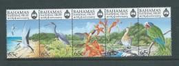 Bahamas 1999 National Trust Bird Strip Of 5 MNH - Bahamas (1973-...)