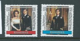 Bahamas 1986 Andrew & Sarah Wedding Set Of 2 MNH - Bahamas (1973-...)