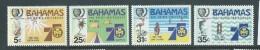 Bahamas 1985 Girl Guides Set Of 4 MNH - Bahamas (1973-...)