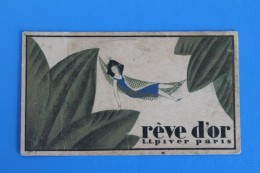 1928   CALENDRIER           RÊVE  D  '  OR - Kleinformat : 1921-40