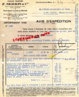13 - PORT SAINT LOUIS DU RHONE - FACTURE AGENCE MARITIME F. SERRIS - 1941 - Francia