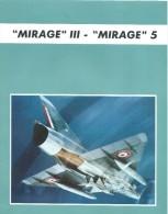 Plaquette Commerciale /Mirage III/Mirage 5/Avions Marcel DASSAULT/Avion De Combat/1967-1974      AV12 - Aviation
