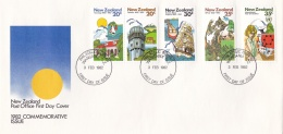 New Zealand FDC 1982 Commerative Issue 1982 (L77-10) - FDC