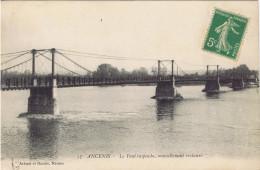 44 - Ancenis (Loire Atlantique) - Le Pont Suspendu, Nouvellement Restauré - Ancenis