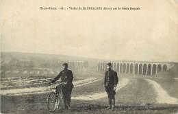 - Haut  Rhin -ref -A 564 - Dannemarie - Viaduc Detruit Par Le Genie Français - Viaducs - Militaria - Guerre 1914-18 - - Dannemarie