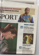 The Times BUSINESS & The Times SPORT - 14/01/2003 - BE - Nouvelles/ Affaires Courantes