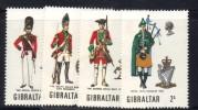 GIBILTERRA 1970 , Serie N. 232/235  MNH  *** - Gibilterra