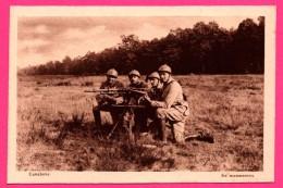 Cavalerie - En Manœuvre - Mitrailleuse - Animée - A. NIEPS - Manoeuvres