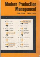Modern Production Management By Elwood S. Buffa - Unclassified