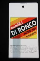 1998 SKIPASS FRIULI VENEZIA GIULIA PROMOTOUR  MOBILIFICIO DI RONCO SUTRIO - Sport Invernali