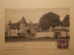 Carte Postale - VIRIEU SUR BOURBRE (38) - Le Château Fort (191/30A) - Virieu