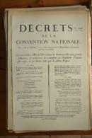 AFFICHE REVOLUTION. FAC-SIMILÉ - 63 - AFFICHES DE LA COMMUNE DE PARIS DU LUNDI 30 SEPTEMBRE 1793 - Affiches