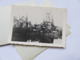 Ww2  Bombardement De La Flotte Par Les Anglais Bateau à Identifier  . Vichy Pétain 2 Eme Guerre - Guerra, Militari