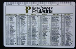 1995 BANCA POPOLARE FRIULADRIA / BANK / Calendario - Calendari