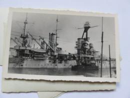 Ww2  Bombardement De La Flotte Par Les Anglais Bateau  . à Identifier  . Vichy Pétain 2 Eme Guerre - Guerra, Militari
